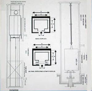 Glass Elevator Dimensions